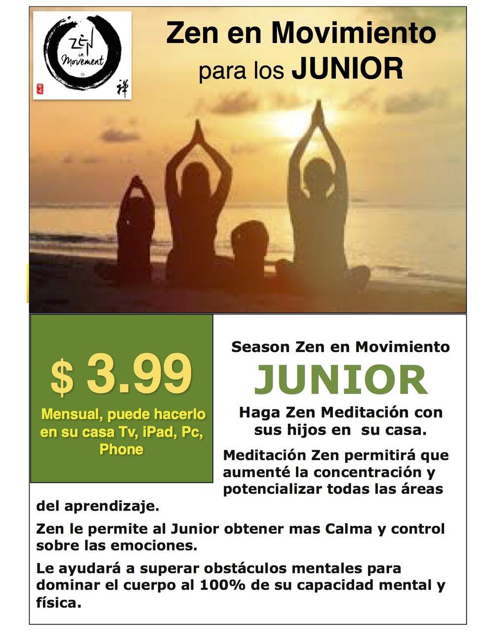 Compre su Junior Zen Meditacion Click en la FOTO