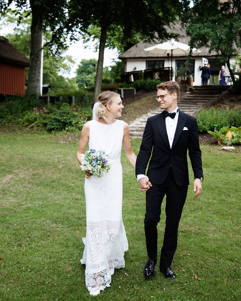 Silke Bonde wedding