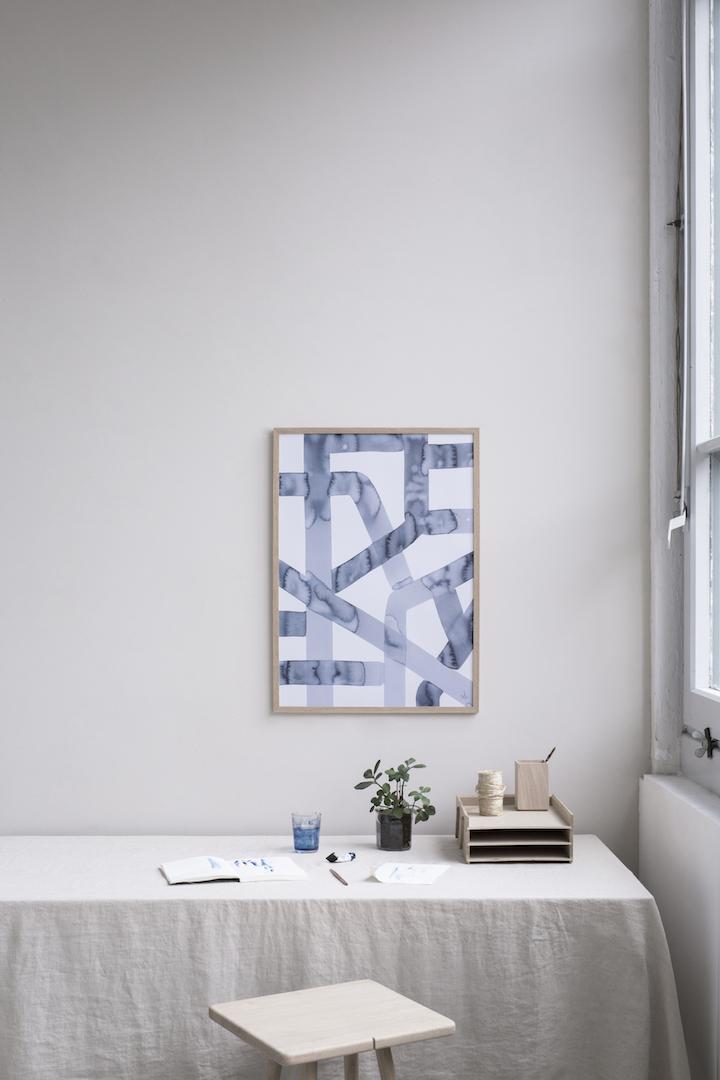 """""""Noisy"""" art print"""