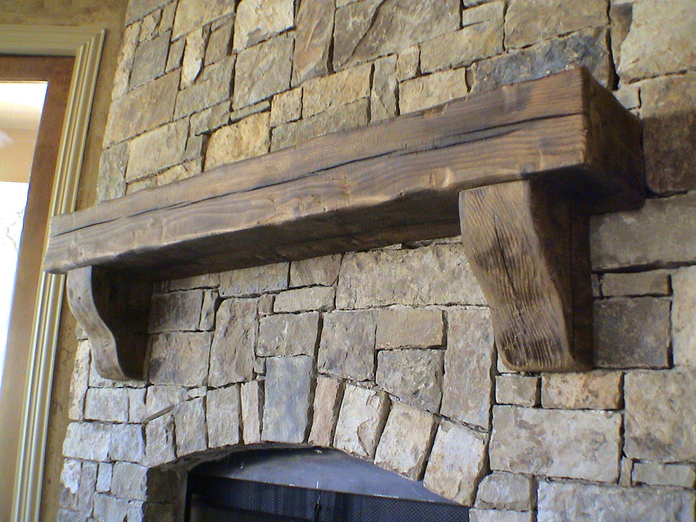 GALLERY beam3 jpg Reclaimed Barn Wood Mantels Beam Fireplace