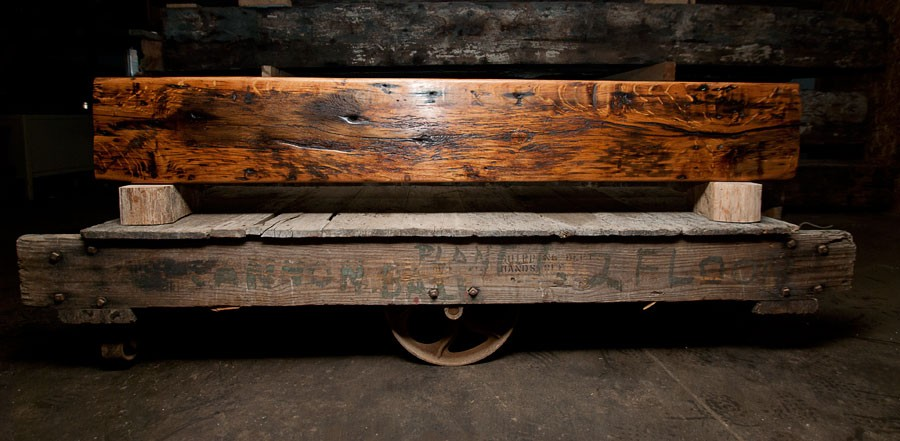Reclaimed and New Wood Beams -