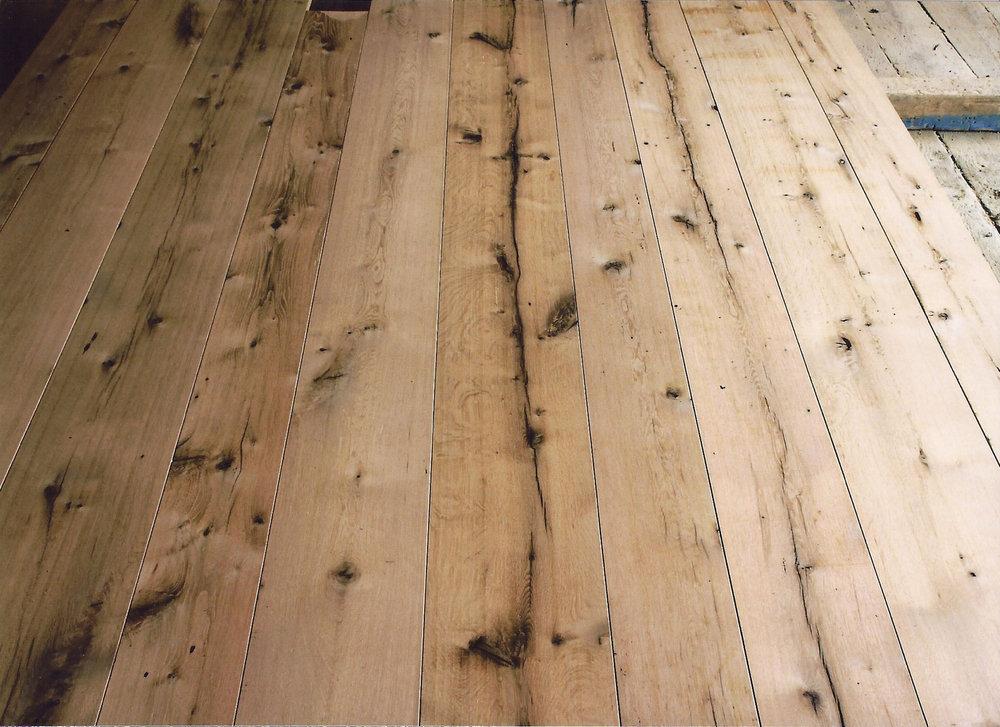Reclaimed & New Wide plank wood Flooring -