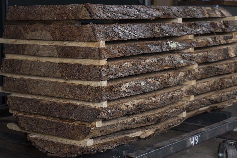 Live Edge Wood Slabs -