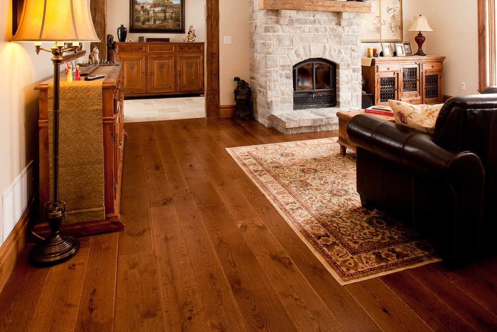 Rustic Quartered White oak - 4