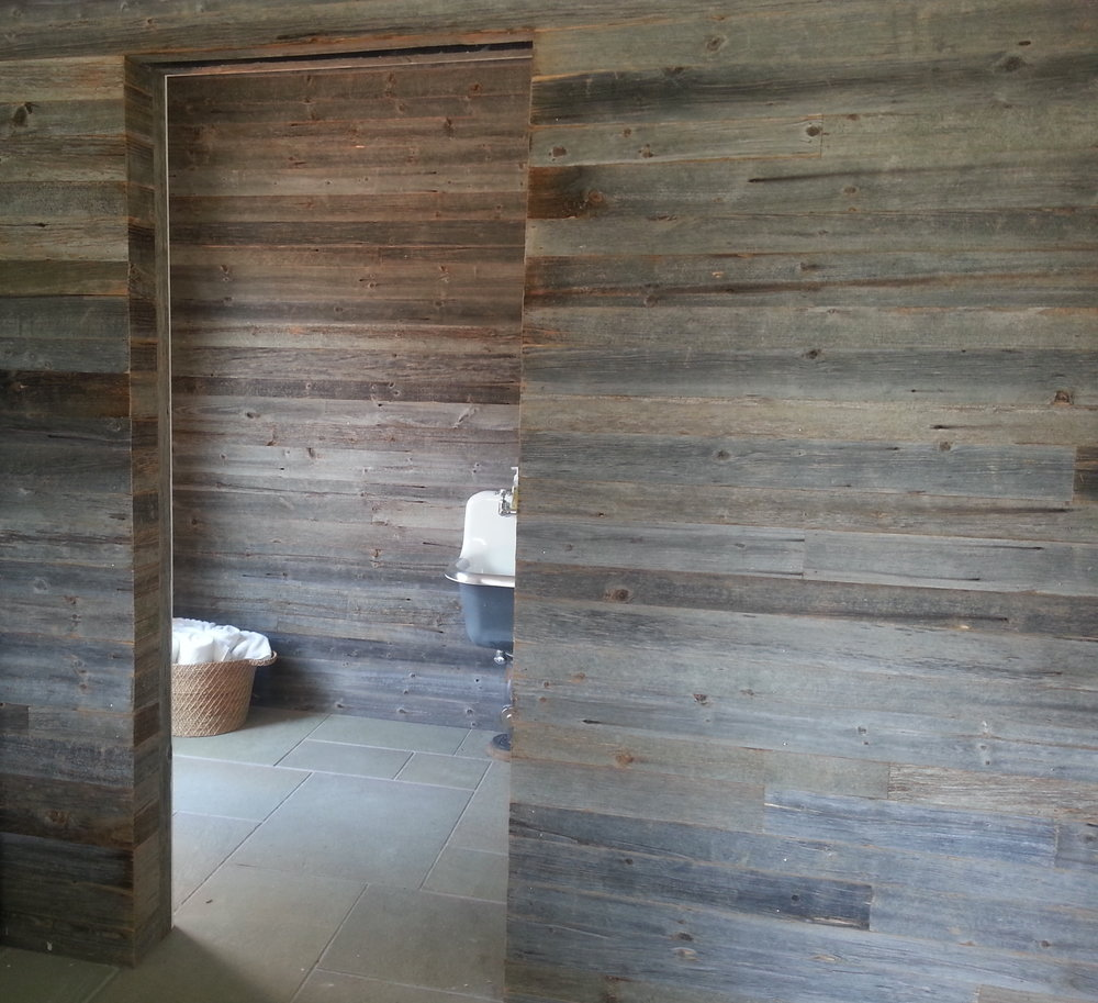 Reclaimed Silver Siding - $10.50 T&G per sqft