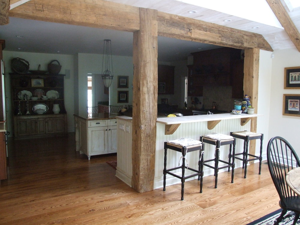 EndGrain New Authentic wood beams