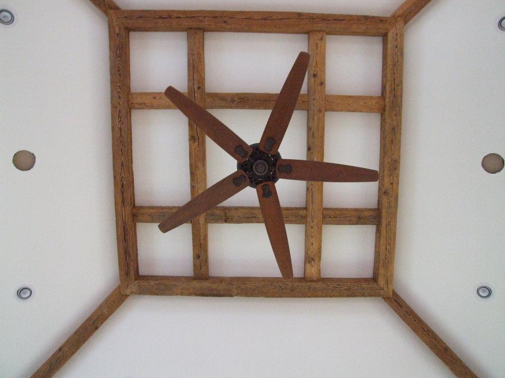 EndGrain Lumber Reclaimed wood ceiling beams from old barn and factory beams