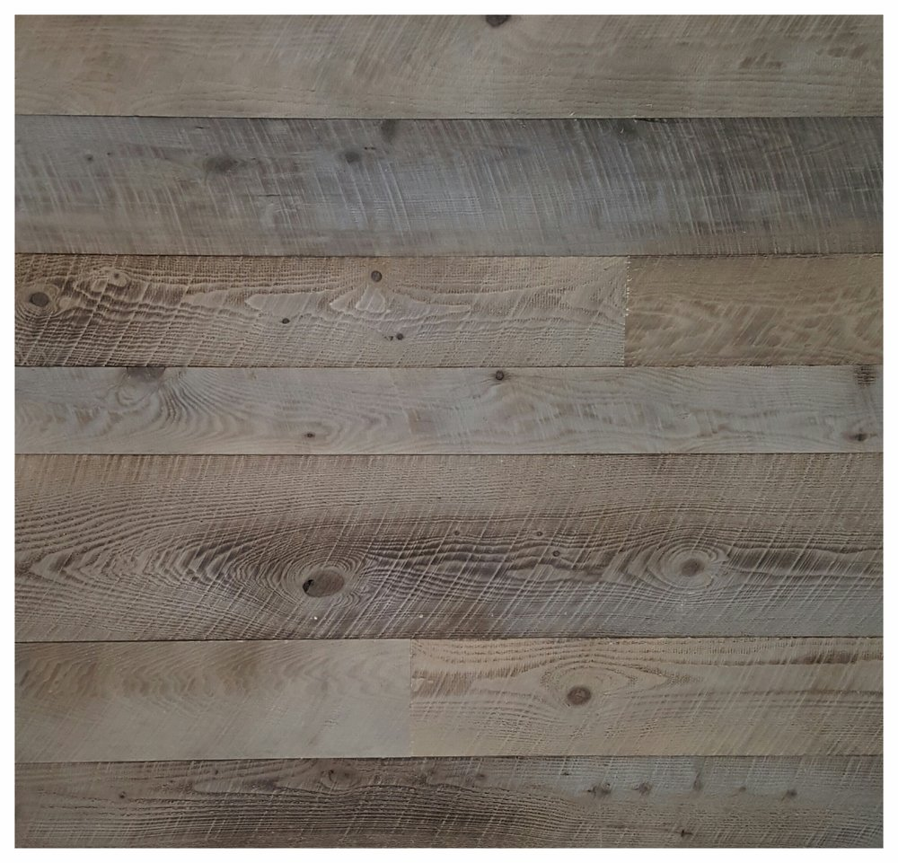 Rustic Weathered Grey Siding  - $7.10 sq ft.  Processed from new, kiln dried pine.  We use our original manufacturing process to patina the wood to a stunning weathered grey that looks like it took years to naturally fade. Add T&G for $1.00 extra.