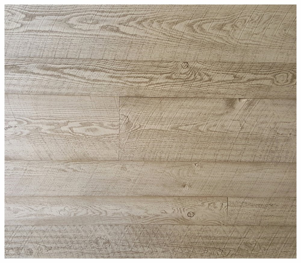 Rustic White Wash Siding - $7.10 per sq/ft.  Beautiful wood to brighten up a room while still keeping that rustic character intact. We can customize the white wash to your needs; heavier, lighter or a mix of both.  Add T&G for $1.00 extra.