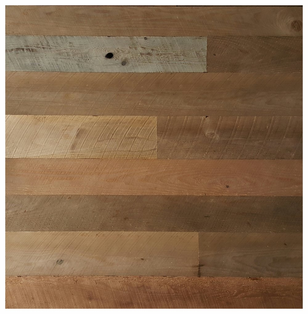 Rustic Weathered Brown Siding - $8.60 per sq ft. Achieves that Rustic Warmth at a very conservative price point. Add T&G for $1.00 extra.