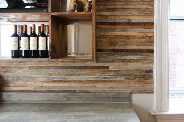 Reclaimed & New Wood for Walls & Ceilings -