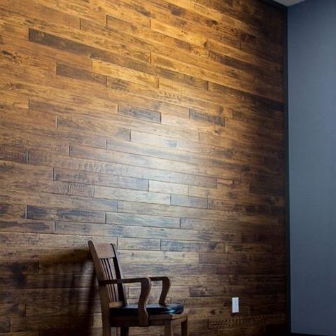 Wood Walling -