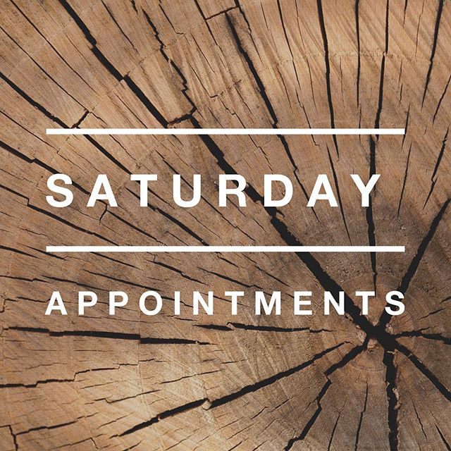 Heads up! We are now closed on Saturdays. However we will be open for private appointments. Need to come by on a Saturday? Give us a call at 862-213-3606 to schedule. ☎️