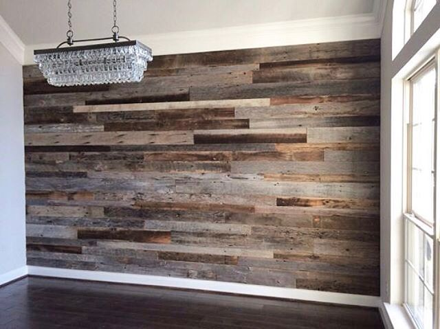 There's nothing better than a reclaimed wood accent wall to define and bring warmth to a space. Love the look? EndGrain has your back. Our stock of reclaimed wood is diverse and ready to transform your space. Click the link in our bio to browse and then stop by our shop in Bloomfield, NJ!