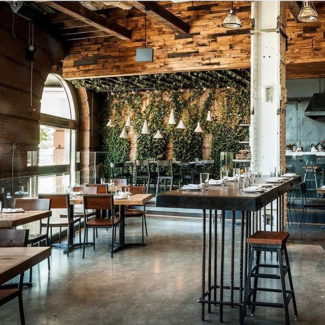 It's all in the details. Touches of reclaimed wood siding make all the difference in a restaurant or home. Click the link in our bio to browse our collection and then stop by our showroom to stock up on wood siding for your next project. @toro_nyc