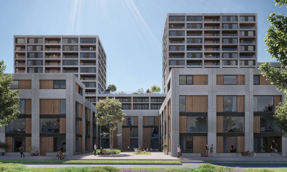 """""""A sequence of compact urban spaces;ideal pockets for families and collective urban life."""" -"""