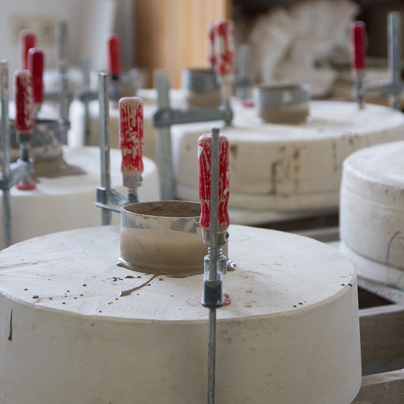 Einblicke in die Keramik-Produktion