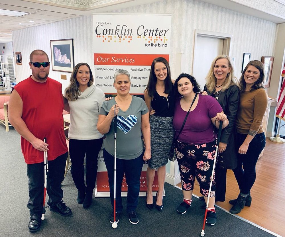 who we are - The Conklin Center for the Blind first opened it's doors in 1979. Since then our mission has been to help adults who are blind or visually impaired with additional disabilities become independent and contributing citizens.