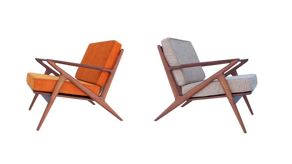 Z Chairs in Teak - Available now
