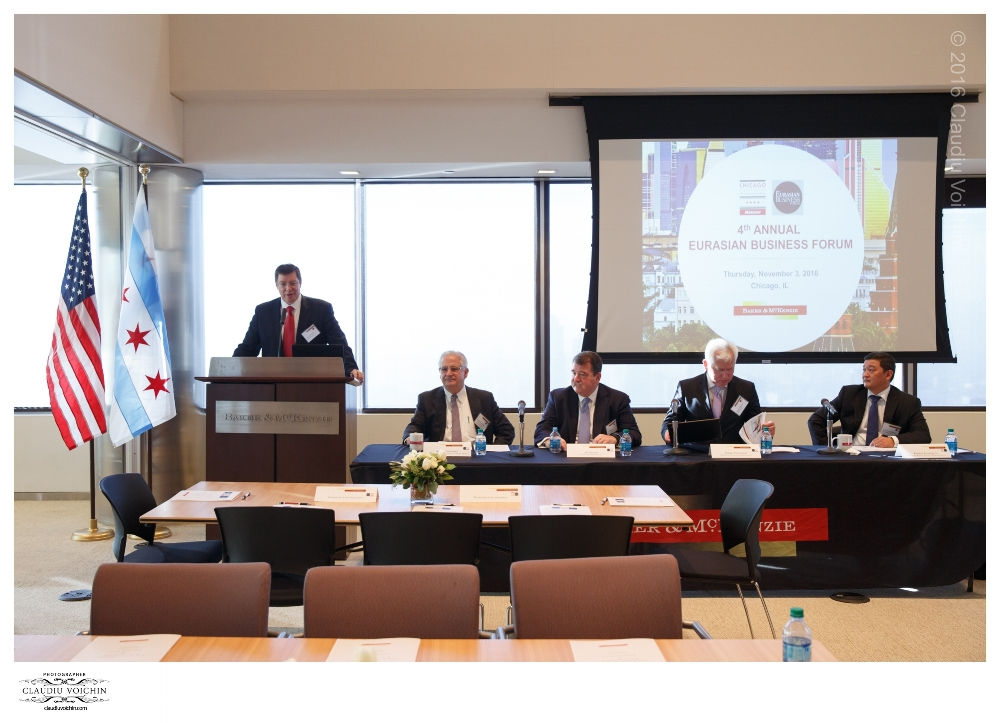 The Fourth Annual Eurasian Business Forum took place in Chicago on November 3, 2016