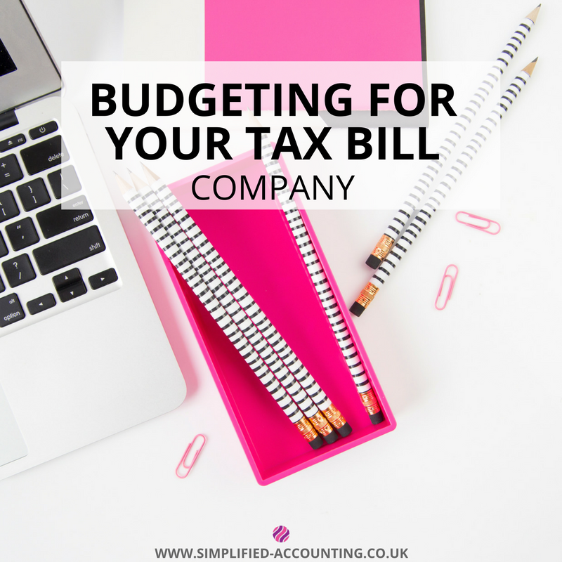 budgeting for your tax bill