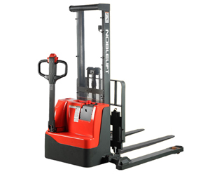 ECL22M Series Light Duty Electric Stacker - An economic and efficient solution for light-duty stacking applications.2200 lb Capacity