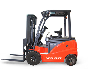 FE4P66-77N Series 4-Wheel Electric Rider Forklift - AC powered electric forklifts with exceptional performance and low cost of operation.6600/7700 lb Capacity