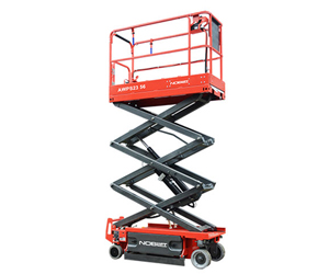 SC830E Self Propelled Scissor Lifts - Best value scissor lift with provided quality, safety and performance.18 ft Platform Height / 30 in Platform Width