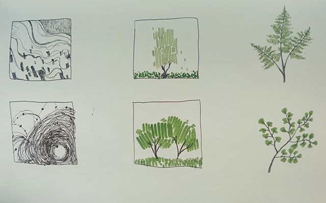 Thumbnail drawings🌿 -Char . . . #sketchbook #art #drawing #marker #ballpointpen #drawingoftheday #instaart #instadaily #plants #tree #beautiful #abstract