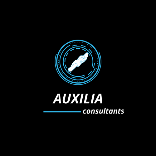 Auxilia Logo - Black + Teal Icon.png