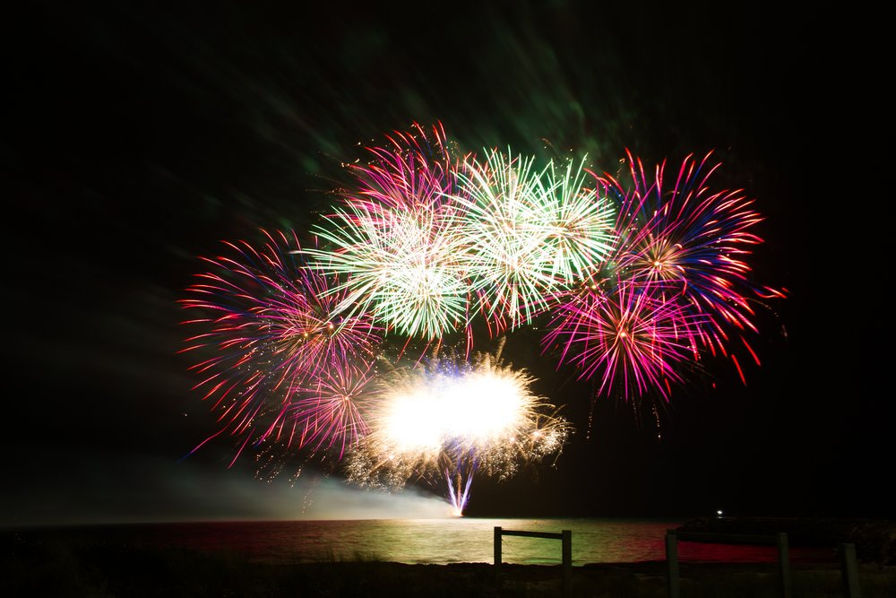 In Latin America, Christmas and New Year's (and sometimes the entire month of December!) are celebrated with fireworks displays!