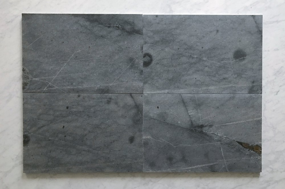 Blue Porphyry Granite 16x24 Polished
