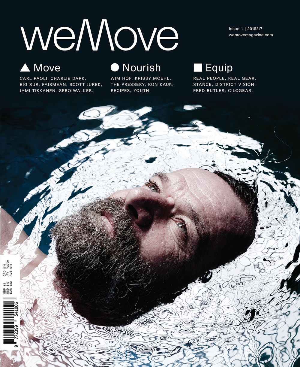 weMove Issue 1 £8 / €12 / $12