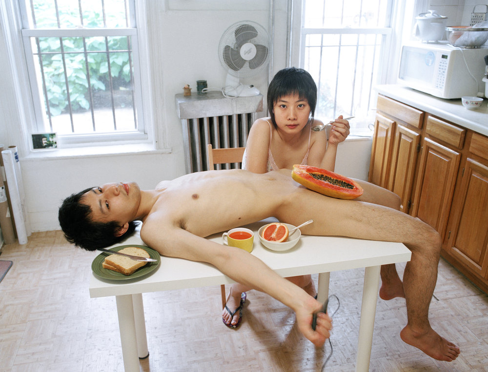 Start your day with a good breakfast together, 2009 (Photography by Pixy Liao)