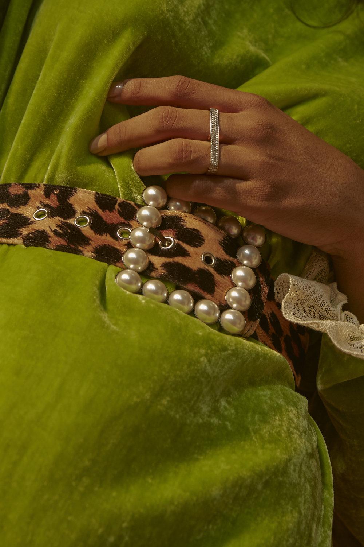 Dress Blugirl Belt Blugirl Ring Ginette NY