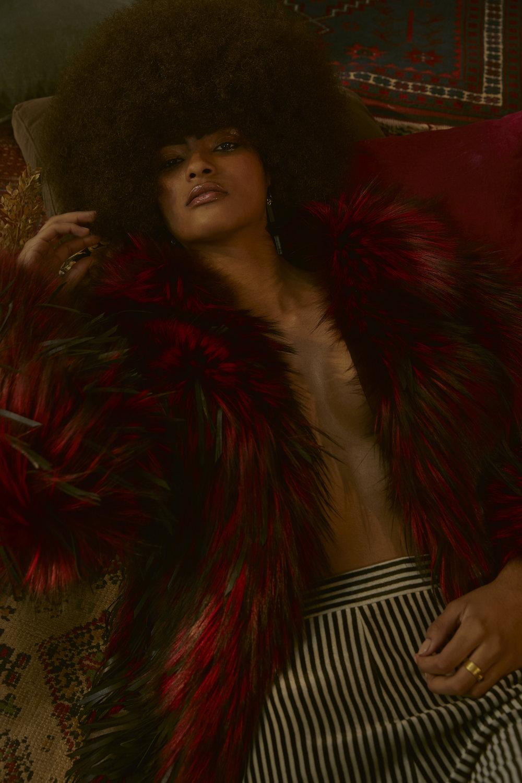 Fur Coat Jitrois Trousers Etro Ring Emmanuelle Zysman