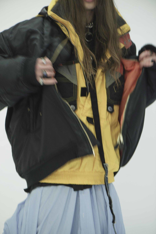 Ski Jacket  Vintage  Bomber  ALPHA INDUSTRIES  Shirt  FRANCESCO GIANFRATE