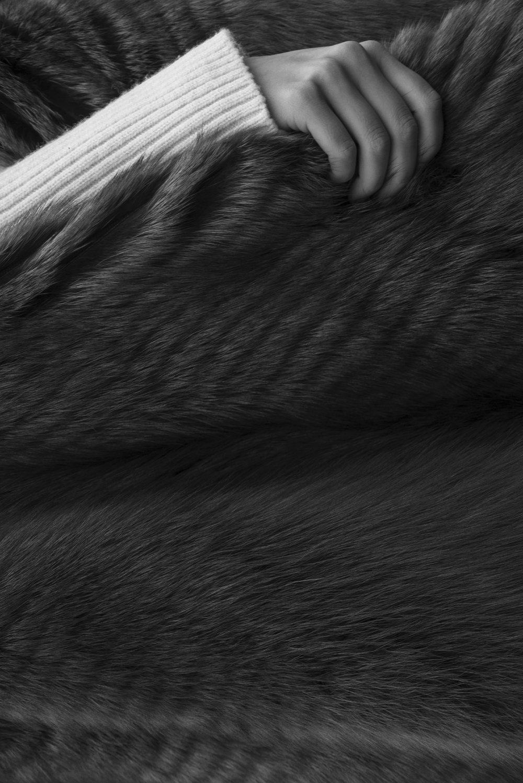 Shirt  CELINE  Fur Coat  VIONNET
