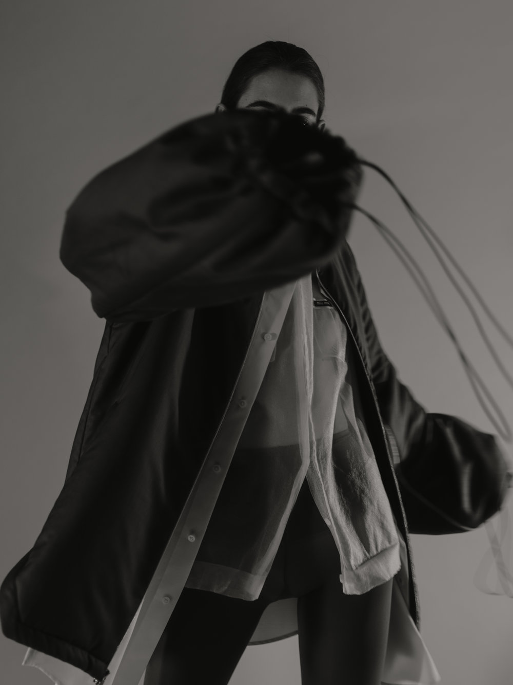 Shirt  MIU MIU    Long shirt  FACETASM    Jacket  ROUGE MARGOT
