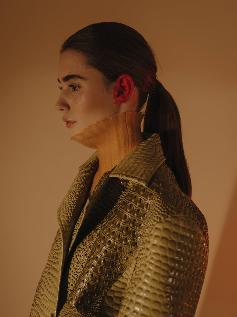 Coat  LEO  Dress  POIRET