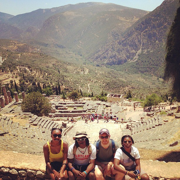 The Greek Classics Program ends a semester of study with a summer trip to Greece.