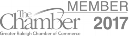 Demonstrating our commitment to the community, we are proud members of one of the most influential business organizations in the region: The Greater Raleigh Chamber of Commerce.