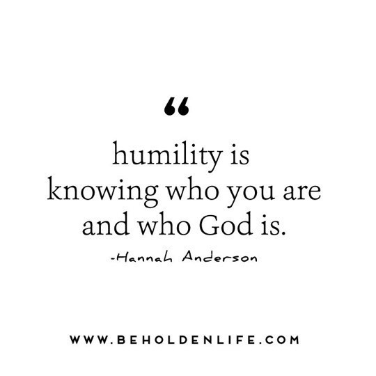 """Humility is knowing who you are and who God is."" - Hannah Anderson, Humble Roots. 🙏🏼 - #humility #slowdown #perspective #deeplyrooted #quotes #qotd #faith #foodforthought #purposedriven #rest #beholdenlife"
