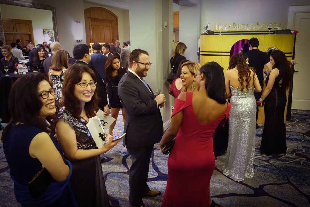 Lucky Photo Booth at the  Hispanic 100 Foundation's 2016 Gala at the Balboa Bay Resort.