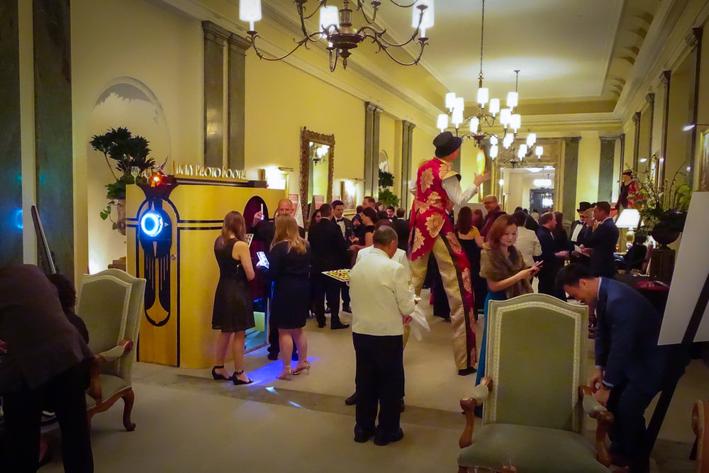 We had a great night working this corporate Gala at the historic California Club!