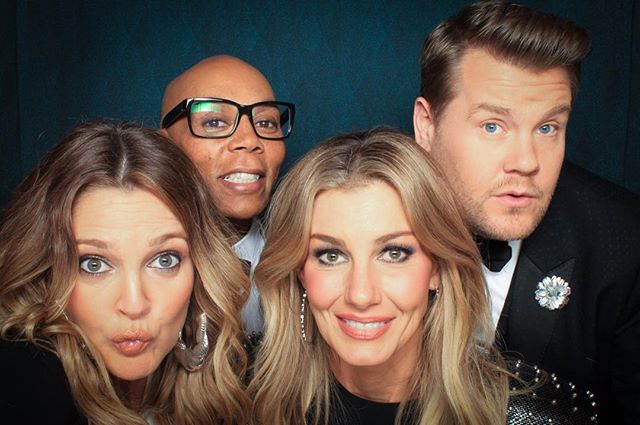 Congratulations on the fantastic premiere of the new CBS show, Worlds Best! So much talent in the booth at one time! #WorldsBest @j_corden @drewbarrymore @rupaulofficial @faithhill