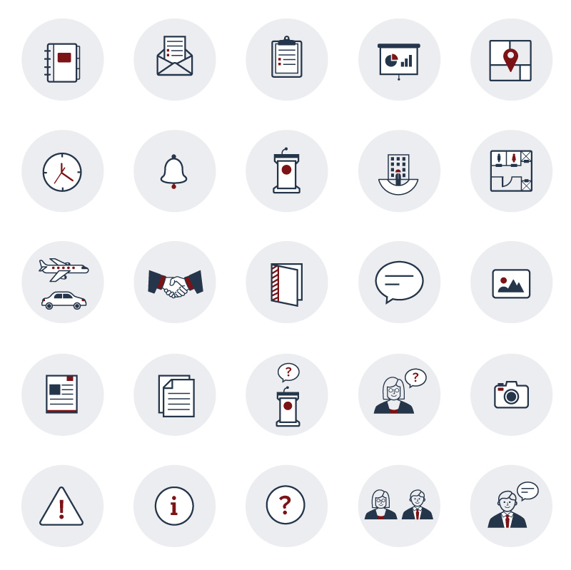 Eventpad AIR icons