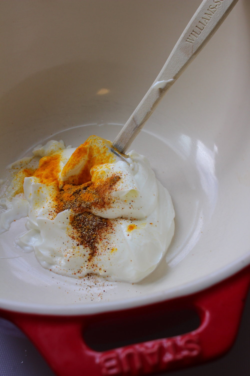 yogurt dip_spices