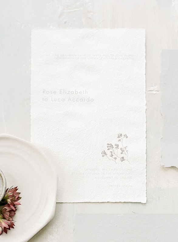 Fine Art Wedding Stationery