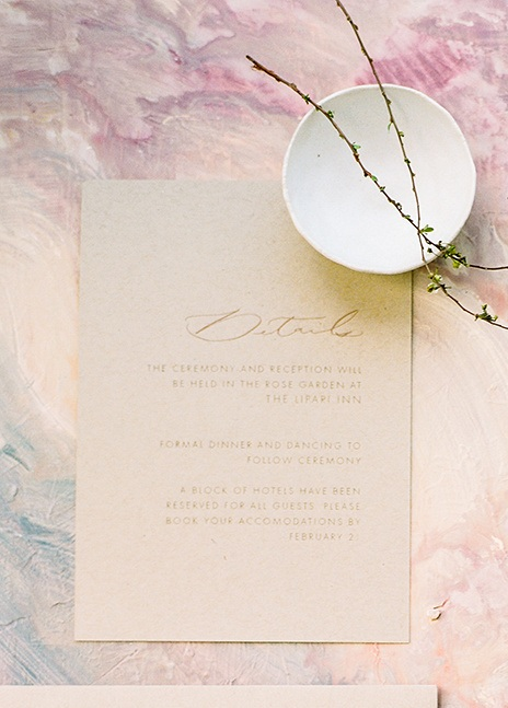 Calligraphy Details Card